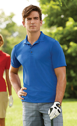 Gildan Adult 4.7 Ounce 100% Poly Jersey Gildan Performance® Short Sleeve Polo